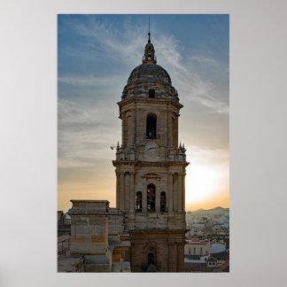 Pôster A catedral de Malaga