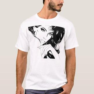 Poster A do salão de beleza Camiseta
