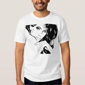 Poster A do salão de beleza T-shirt