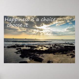Pôster A felicidade é uma escolha
