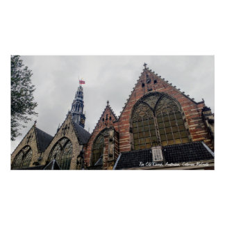 Poster A igreja velha, Amsterdão