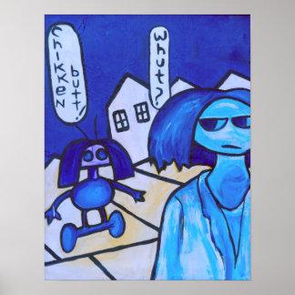 Poster A insurreição do robô