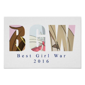 Pôster A melhor guerra da menina mim