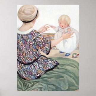 Pôster A primeira etapa do bebê por Anne Anderson