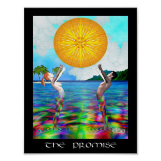 Poster A promessa (8,5 por 11)