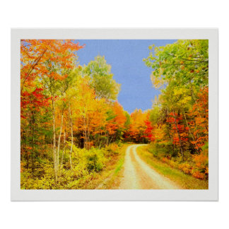 Pôster A queda colore Maine