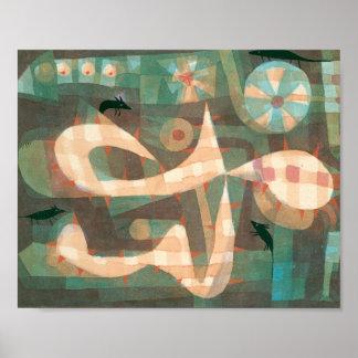 Poster A soga farpada com os ratos: Paul Klee 1923