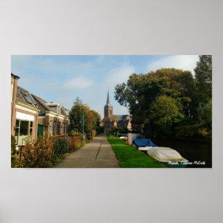 Poster Abcoude, Países Baixos