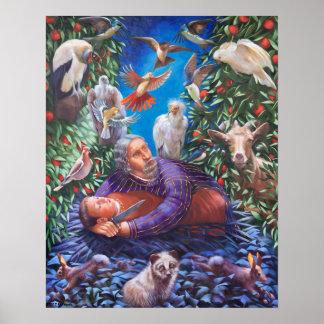 Poster Abraham & Isaac a restauração de Isaac
