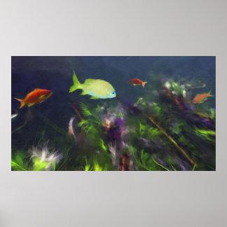 Poster Abrigo dos peixes