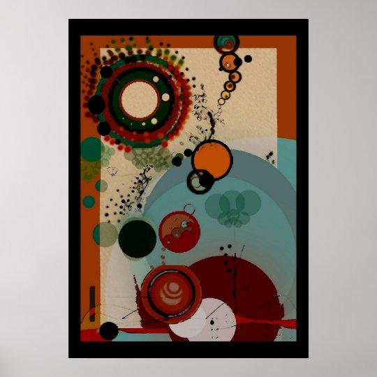 Poster abstrato de Agoraforbialice Pôster