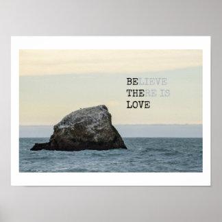 Poster Acredite que há um amor