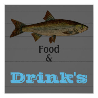 Pôster Advertising_Business-Poster's_Fish_Template