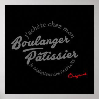 Poster Afixar PLV para Padeiros - pasteleiros
