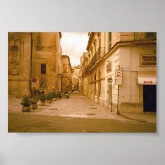 Poster agradável e do estilo antigo de Roma