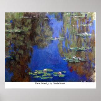 Poster Água Lilies6_lg por Claude Monet