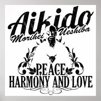 Poster Aikido O Sensei