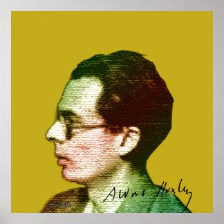 Poster Aldous Huxley