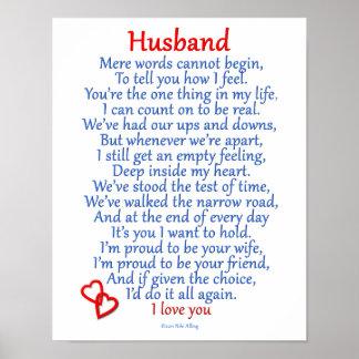 Pôster Amor do marido