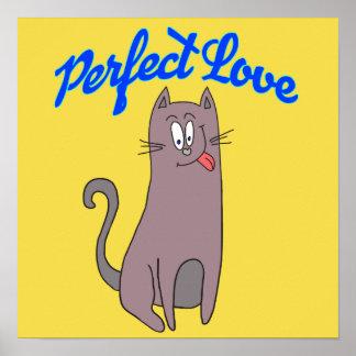 Poster Amor perfeito