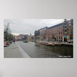 Poster Amsterdão, Países Baixos