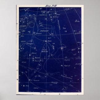 Poster Andromeda e mais das constelações