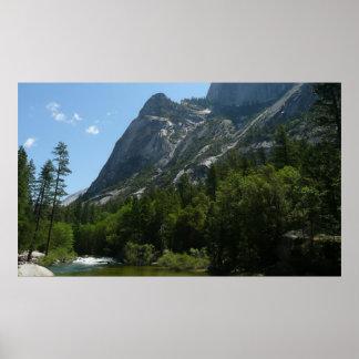 Pôster Angra de Tenaya no parque nacional de Yosemite