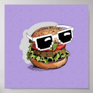 Poster animado hamburguer