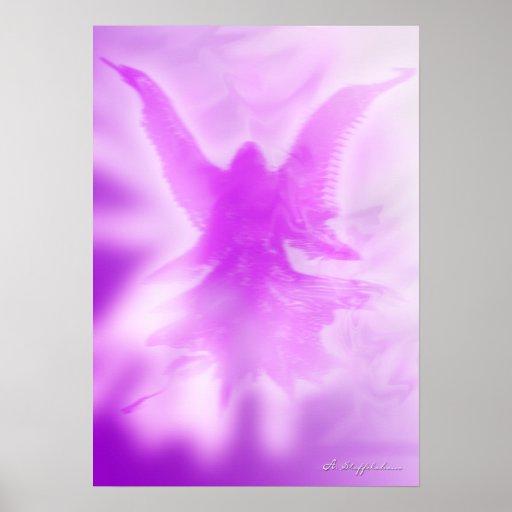 Poster Anjo do raio violeta