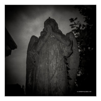 Pôster Anjo, parque de Abney, Londres. Câmera do