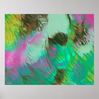 Pôster Antecipe - a pintura abstrata