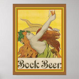 Poster Anúncio ca.1912- 12 x 16 da cerveja de cerveja