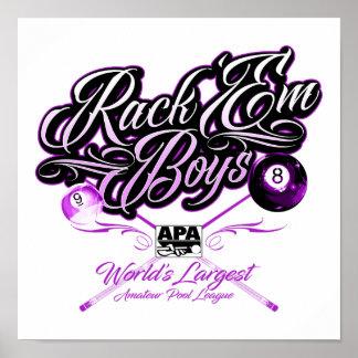 Poster APA submetem-nos meninos