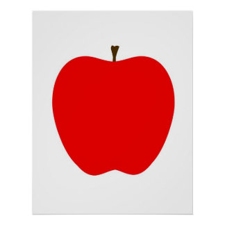 Pôster Apple moderno imprime