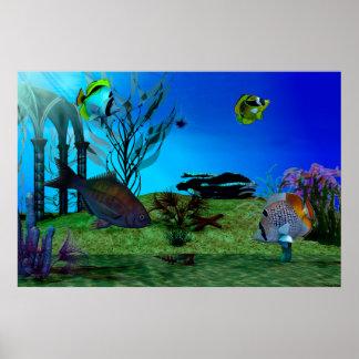 Poster Aquarium3D