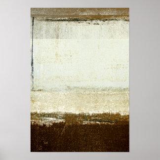 "Pôster Arte abstracta neutra ""Discoid"""