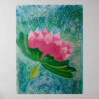 Pôster Arte da flor