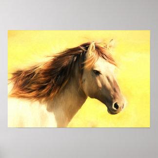 Poster Arte da parede do cavalo