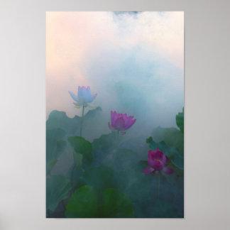 Poster Arte fotográfica -9 do Fairyland de Lotus