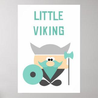 Poster Arte pequena da parede de Viking