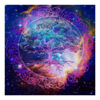 Pôster Árvore da cura da vida