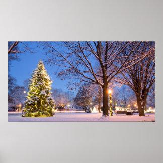 Poster Árvore de Natal da comunidade, Worthington, Ohio