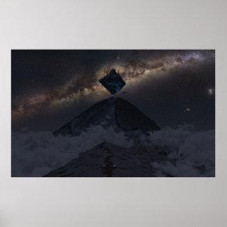 Poster Asgard de aproximação (noite)