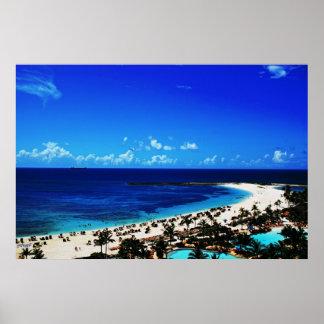 Pôster Atlantis, ilha do paraíso
