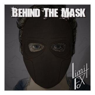 Pôster Atrás do poster do cobrir da máscara