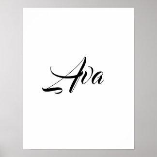 Poster Ava