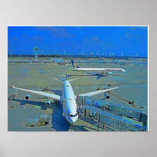 Poster avião pôster
