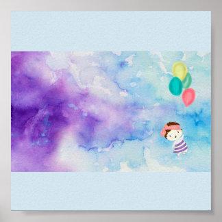 Pôster Balões