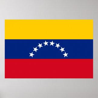 Poster Bandeira de Venezuela