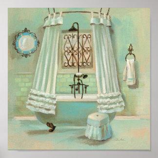 Poster Banheiro antiquado